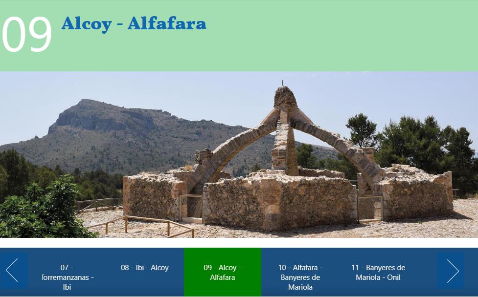 Foto Etapa 09 Alcoy-Alfafara