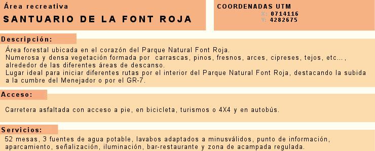Foto Información Font Roja
