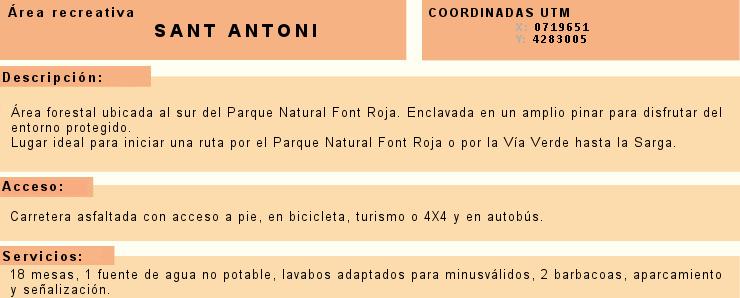 Foto Información Sant Antoni